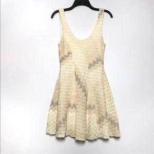 Free People | Cream lace/crochet dress Sz. XS